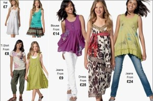 Dievčenské oblečenie Next