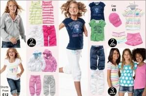 Next oblečenie pre dievčatá