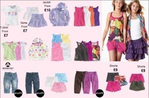 Štýlové oblečenie Next pre dievčatá