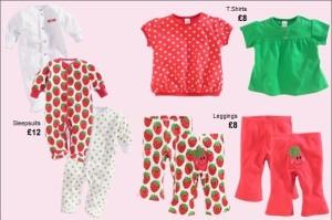 Štýlové oblečenie Next pre dievčatká