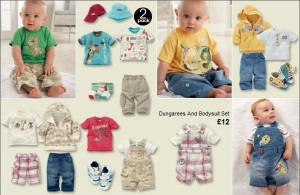 Oblečenie Next pre novorodencov