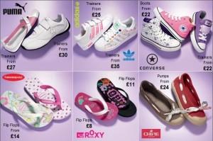 Dievčenské topánky Next podľa najnovšej módy