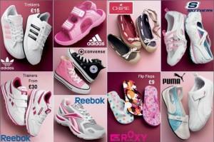Štýlové dievčenské topánky Next