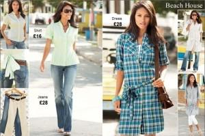 Dámske oblečenie Next pre bežné nosenie
