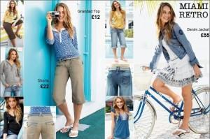 Dámska kolekcia oblečenia Next pre bežné nosenie Miami Retro